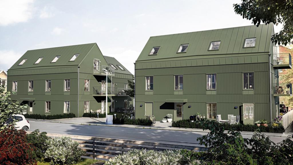 Ny lägenhet med centralt läge.