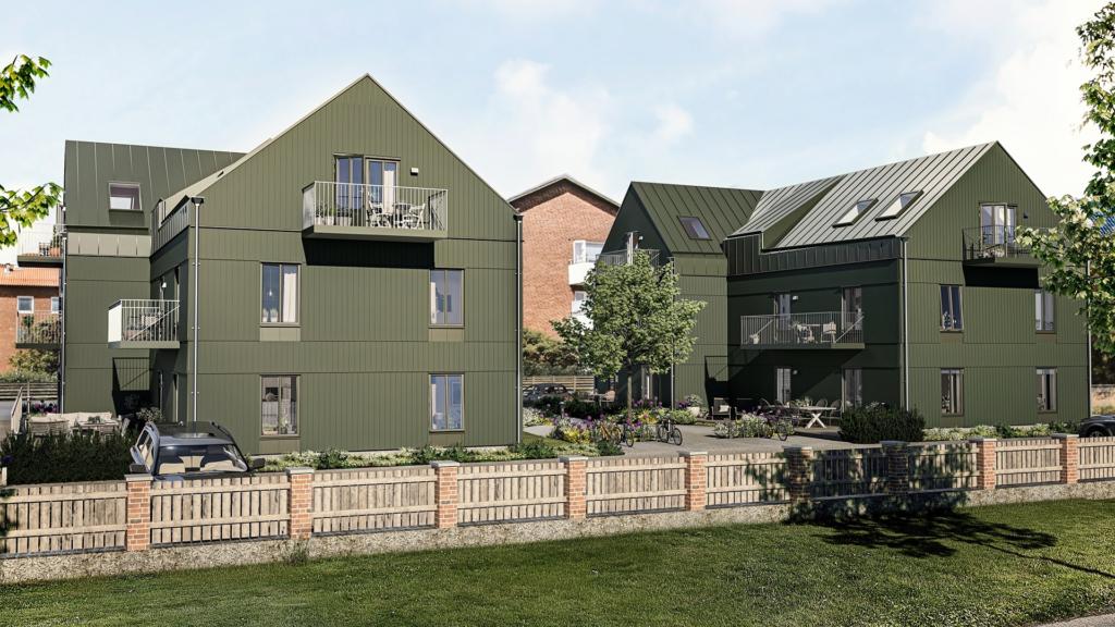 Nu säljs Brf Morkullan bestående av 14 bostadsrätter om 2-3 r.o.k. beläget i lugnt bostadskvarter.
