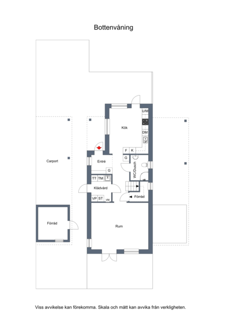 Praktiskt och fint kedjehus om 129 kvm på centrumnära läge.