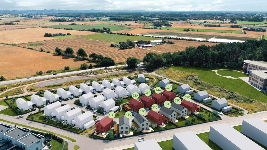 Kedjehus med stora sociala ytor i Varberg